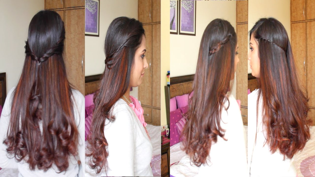 Simple And Easy Girls Hairstyles For Everyday Diy