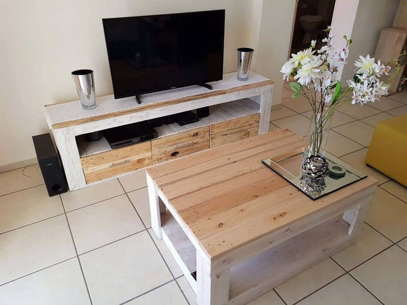 Shipping Wood Pallet Furniture Design Ideas – DIY Inspirational ...